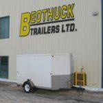 Exterior Beothuck Trailers Ltd. Enclosed Cargo Rental Trailer